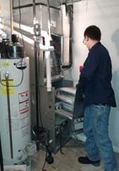 Фото ремонта отопления