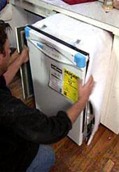Фото установки посудомоечных машин