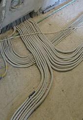 фото прокладки электропроводки