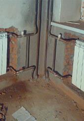 Фото замены стояков отопления